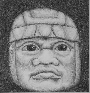 Olmec Head #3